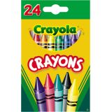 Crayola® Crayons Assorted Colours 24/set