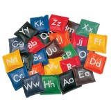 5 Alphabet Bean Bag Set