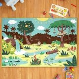 AR Rug-Tales - 3D Interactive, 6' X 4' Augmented Reality Area Rug