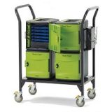 Tech Tub2 Modular Cart, Holds 24 devices