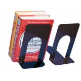 Metal Bookends, 9H, Black