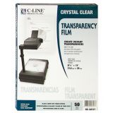 C-Line® Transparency Film, Copiers, B&W Laser Printers, Box of 50