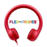 Kids Flex Phone Headphone Red