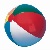 12 Multi-Colored Beach Ball