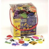 Creativity Street® Wonderfoam® Whimsical Fun Shapes Peel & Stick 3D Foam Sticker Box