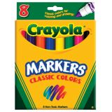 Crayola® Classic Conical Tip Permanent Markers 8/pkg