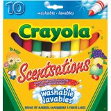 Crayola® Scentsations Conical Tip Washable Markers 10/pkg