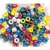 Creativity Street ® Metallic Pony Beads