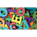 Creativity Street® Wood Capital Letters