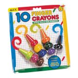 ALEX® Finger Crayons 10 Colours