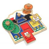 Fresh Start Jumbo Knob Puzzles, First Shapes