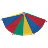 6' Multi-Colored Parachute