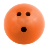 3 lb Plastic Rubberized Bowling Ball