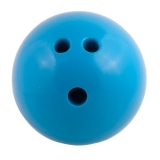4 lb Plastic Rubberized Bowling Ball