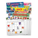 French Calendar Set