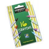 Sargent Art® Crayons, 16 count tuck box