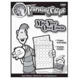 Learning Chip Blank Labels (Print your own) (5 sheets of 30)