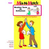 Weather Term-N-Definition Mix-N-Match