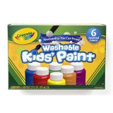 Crayola® Washable Kids' Paint Sets of 6 and 10