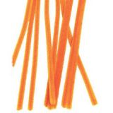 Chenille Stems® 4mm thick 12L. Pack of 100 Orange