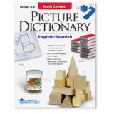 Math Content Picture Dictionary Gr. K-5 (English/Spanish)