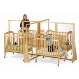 Jonti-Craft See-Thru Quad Crib Divider
