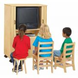 Jonti-Craft Euro-TV Cabinet