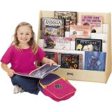 Jonti-Craft Double Sided Pick-a-Book Stand