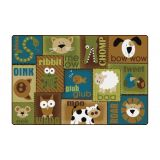 Animal Sounds Nature - 4' x 6' Rectangle