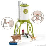 Feed silo with animals *New July 2016