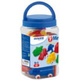 Minimobil  9 cm (3 1/2) Container 9 Units Assorted