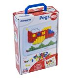 Pegs: 10 mm (3/8) (1 Board + 6 Cards + 600 Pegs) /  Retail Box