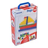 Pegs: 15 mm (5/8) (1 Board + 6 Cards + 300 Pegs) /  Retail Box