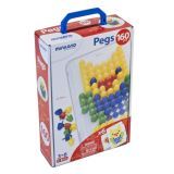 Pegs:  (20mm - 3/4 )  (1 Board + 6 Cards + 160 Pegs) /  Retail Box