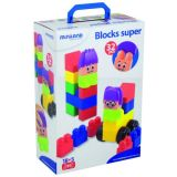 Blocks Super 32 Pieces w/characters