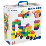 Blocks Super 64 Pieces w/characters