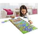 Animals and Numbers: Maxi Puzzle 40 Pieces:  12 1/4x33
