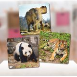 3 Progressive puzzle. Animals