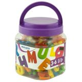 Magnetic Uppercase Letters (155 Pieces) / Jar
