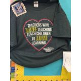 L Love Teaching T-Shirt