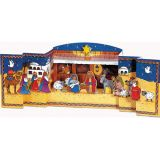 3D Manger Scene Advent Calendar