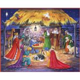 Arrival of Jesus Advent Calendar w/Env