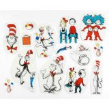 Cat in the Hat Characters Two-Sided Decorations