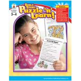 Bible Story Puzzle 'n' Learn: 3-4