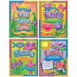 Faith, Hope, & Love Decorative Charts