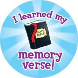 I Learned my Memory Verse Stickers