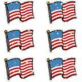 Flags Dazzle Stickers