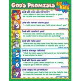 God's Promises for Kids Chart