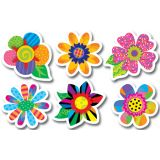 Poppin' Patterns Spring Flower 6 Cut Outs