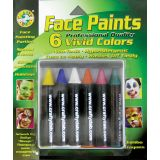 Crafty Dab Jumbo Crayon Face Paint - Vivid Colors